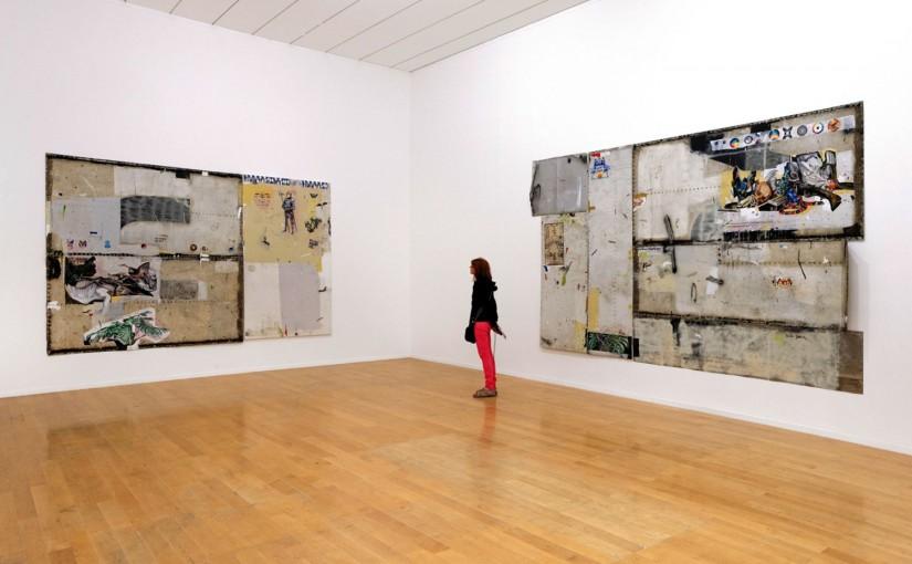 """La Sucrière, """"Entre-temps… Brusquement, et ensuite"""", </br>Installationn view / vista a exposição </br>12e Biennale de Lyon, Lyon, France, 2013"""