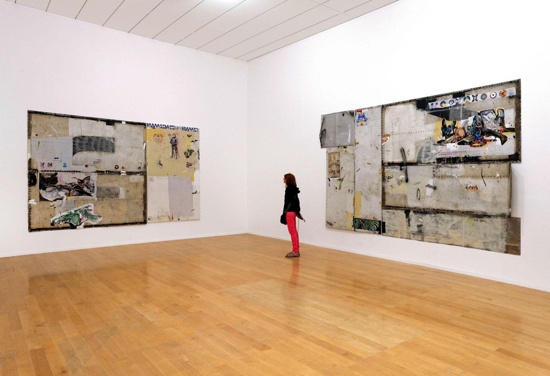 La Sucrière, Entre-temps... Brusquement, et ensuite, 12 Biennale de Lyon, France, 2013 - Vista a exposição