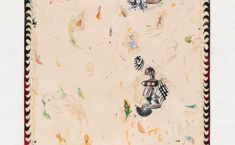 Paulo Nimer Pjota, A forma primitiva, 2018, acrylic, oil on canvas, 200 × 160 cm