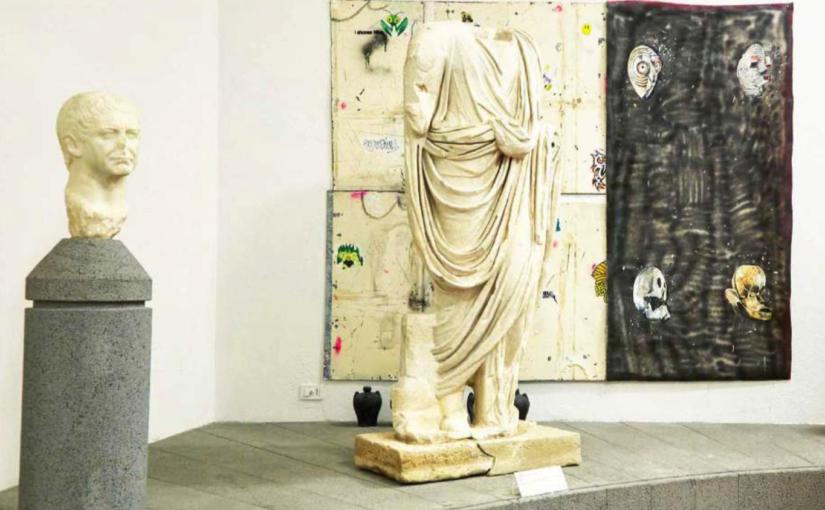 Paulo Nimer Pjota Forever Never Comes – Metabolismo Del Tempo, Museo Archeologico e d'Arte della Maremma, Grosseto, 2017