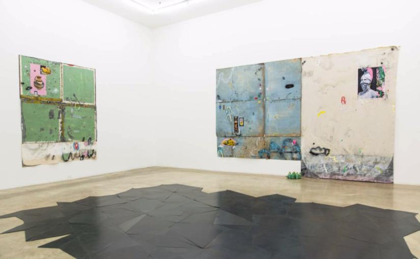 Paulo Nimer Pjota, New Shamans/Novos Xamãs: Brazilian Artists, Rubell Family Collection, Miami, 2017 (foor by Daniel Steegmann Mangrané)